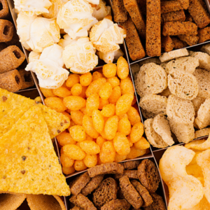 high allergy foods such as gluten and corn products