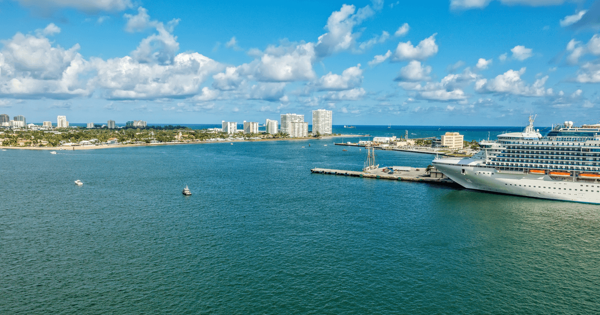 cruise port in Fort Lauderdale