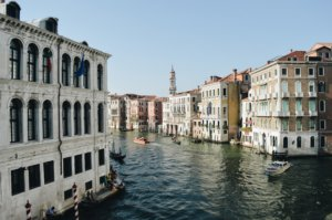city of Venice canal and buildings