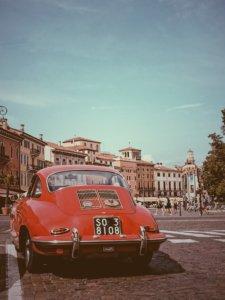 Classic car in Alfami Coast