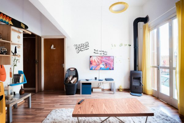 Airbnb living room