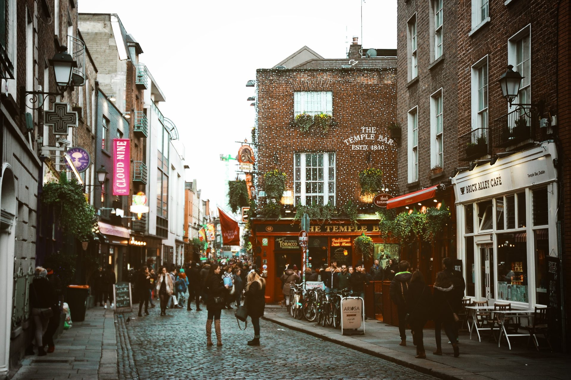 visiting dublin, ireland