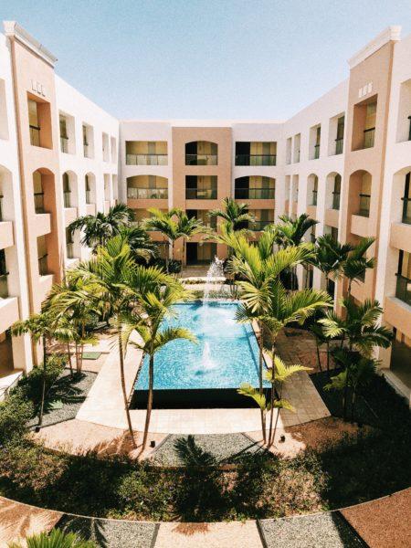 hotel resort in the Caribbean