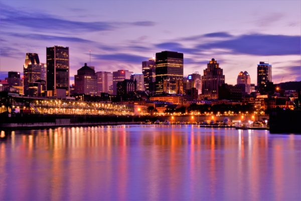 Skyline of Montreal, Canada
