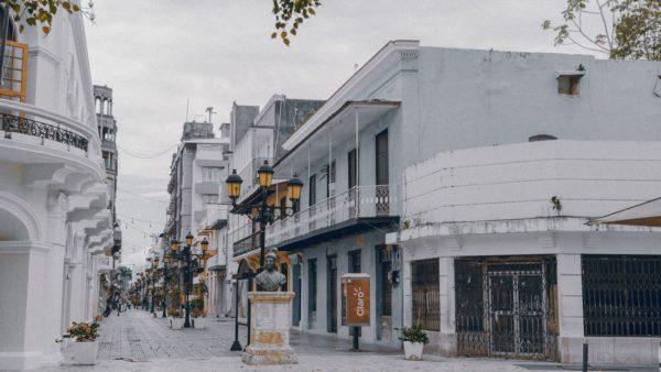 Buildings in Santo Domingo, Dominican Republic