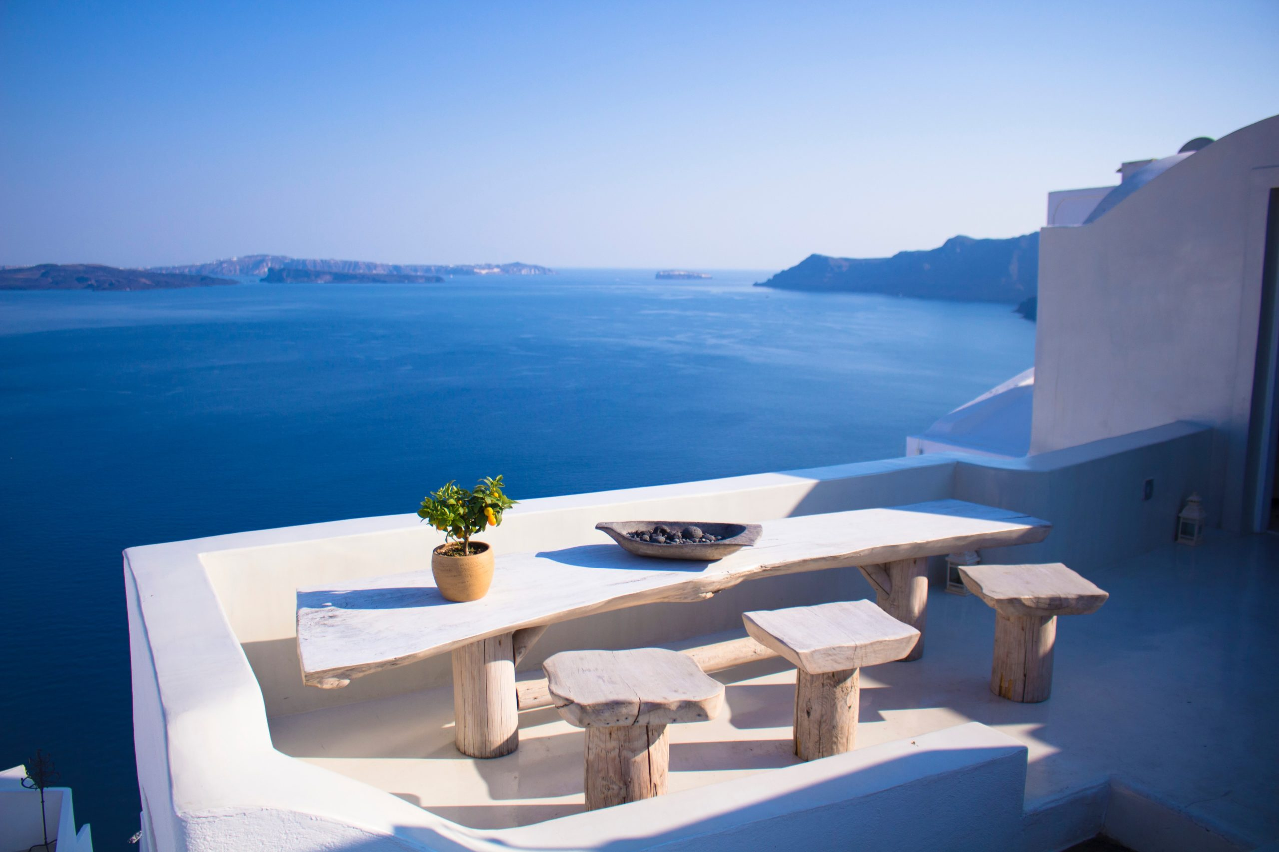 greece scenery of water